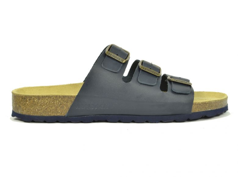 Sanosan Lisbon Leather Navy Womens